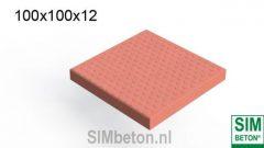 Antislip betonplaten SIMnop